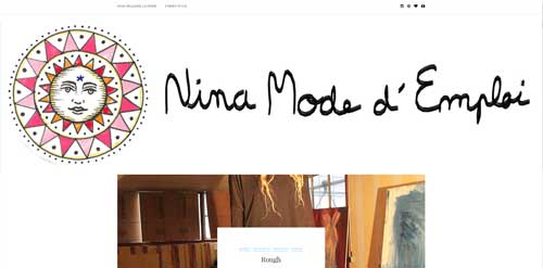 Fashion Music blog, nina mode d'emploi